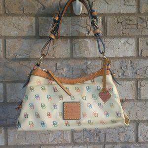 Dooney & Bourke rainbow zipper purse and wallet
